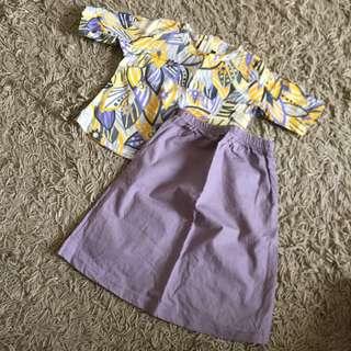 Baju kurung (0-1m)