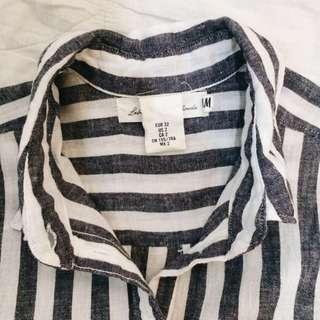 Preloved H&M Flannel Shirt (Long Sleeve)
