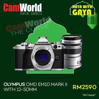 Olympus OMD EM10 Mark II With 12-50mm