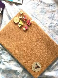Tommy's Gift Cork Board