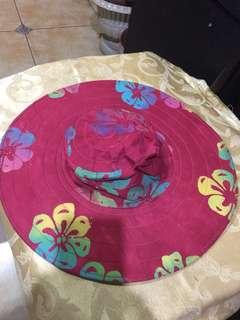 Summer batik hat