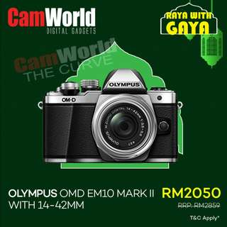 Olympus OMD EM10 Mark II With14-42mm