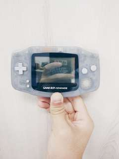 Gameboy Advance [AGB-001] [Translucent Grey, Made in Japan]