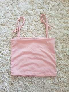 Straight cut (blush pink)