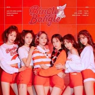 [PREORDER] AOA 5th Mini Album - Bingle Bangle