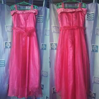 Fushia Pink gown *for kids*