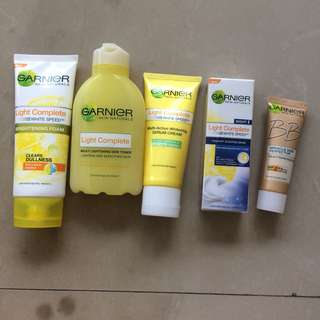 Garnier light complete (LENGKAP)