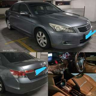 Honda accord 2.4 i vtec 2008 Offer RM9,000 CASH