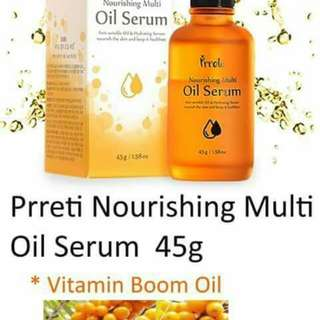 PRRETI Nourishing Oil Serum