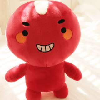 READY STOCK Goblin doll Mr Red Bean Poipot Stuffed toy 25cm K drama Kwave The Lonely and Great God 孤单又灿烂的神鬼怪