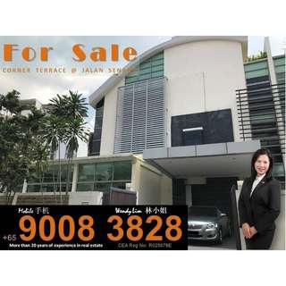 Corner Terrace @ Jalan Senang For Sale