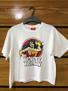 Crop Top Wonder Woman