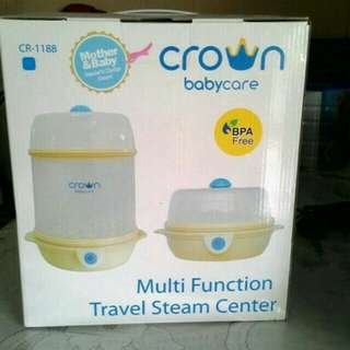 Crown Babycare - Multi Function Travel Steam Center