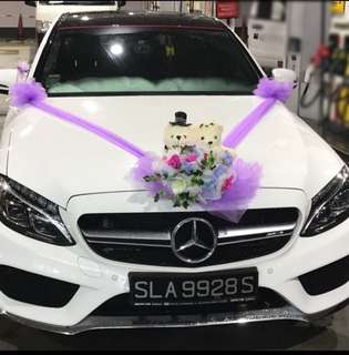 New design Mercedes C Class Amg premium edition for wedding rental comes with friendly amicable driver. Accept all races wedding :) wedding rental to go by hours. 3 -4hrs is $300.5-8 hrs is $388,9-10 hrs is $488. Whole day rental is $888