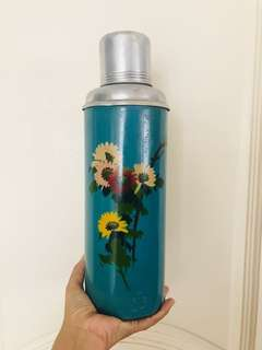Vintage Retro Blue Thermal Flask