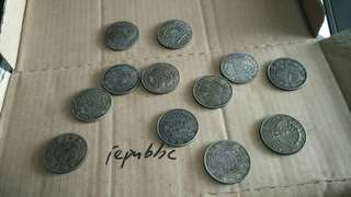 Old silver coins/part 2