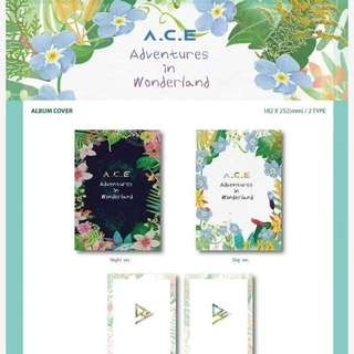 A.C.E REPACKAGE ALBUM - ACE ADVENTURES IN WONDERLAND