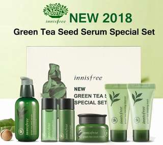 Innisfree the green tea seed ( serum special set )