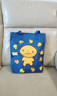麵包人卡通-大購物袋