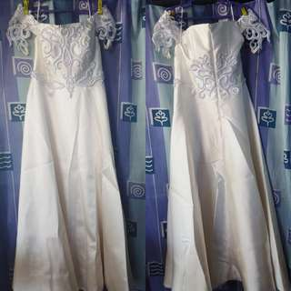 WEDDING GOWN *FOR SALE* USED ONLY ONCE