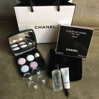 🆓Postage!!! 🆕Chanel Camellia Limited Eyeshadow Palette