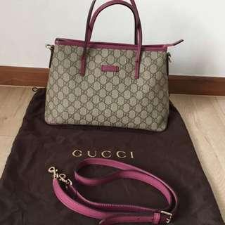 Gucci Supreme Soho Sling Bag (Two Ways Carry)
