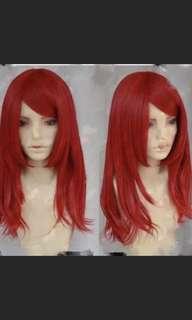 🚚 紅色假髮