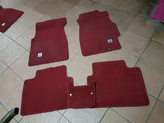 Carpet ek9 5pcs