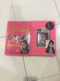 Unsealed SNSD holiday night