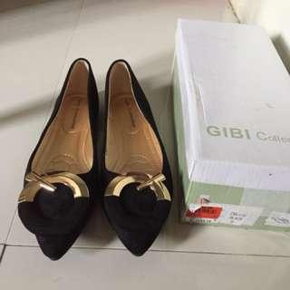Black Shoes Flat Gibi