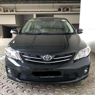Toyota Corolla Altis 1.6 Auto Elegance