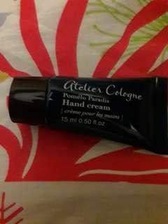 Authentic atelier cologne lotion