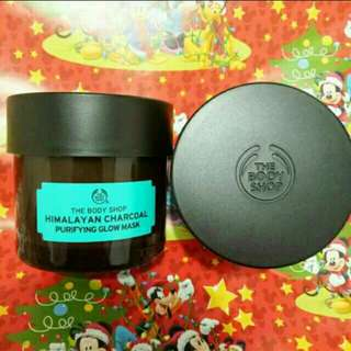 The body Shop Masker Himalayan Charcoal