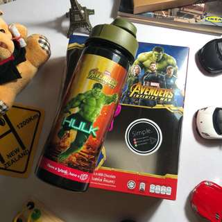 Hulk x Kit Kat Bottle (Limited Edition)