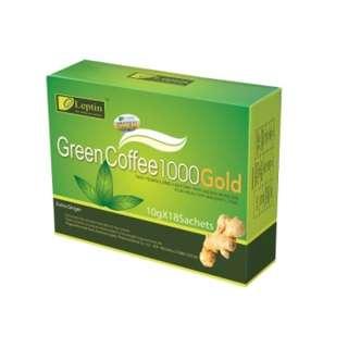 Leptin 綠茶咖啡1000 Gold