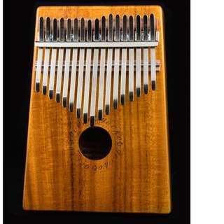 🚚 【送專用背包】 現貨 17音 拇指琴 卡林巴琴 kalimba 手指鋼琴 姆指琴 鋼琴