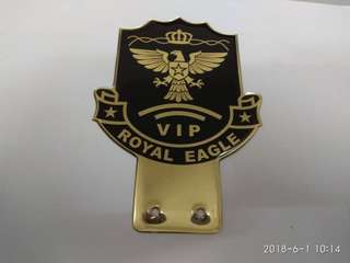 Custom Eagle Emblem Badge Logo