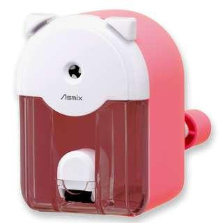 全新曰本ASMIX貓型鉛筆刨, 粉紅色