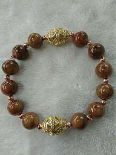 Lemon Jade bracelet