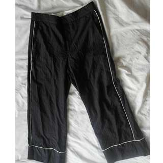 On Trend Striped Square Pants with Lining (Quality)