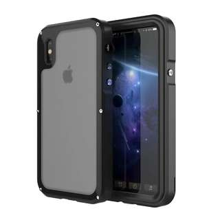金屬極限運動防水iphone手機殼 case iphoneX 7 8 plus waterproof