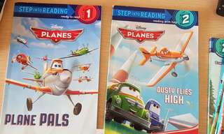 Step Into Reading - planes