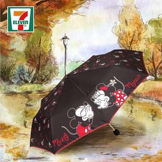 Mickey & Minnie Mouse 雨傘 縮骨遮