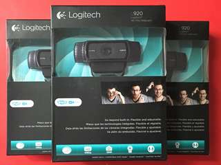 Logitech C920/ Logitech HD Pro Webcam C920, Widescreen Video Calling and Recording, 1080p Camera, Desktop or Laptop Webcam