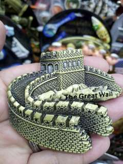 The Great Wall of China Metal Ref Magnet