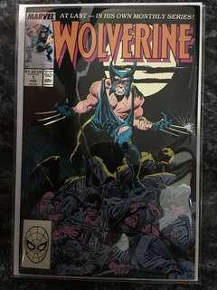 WOLVERINE #1 - #6