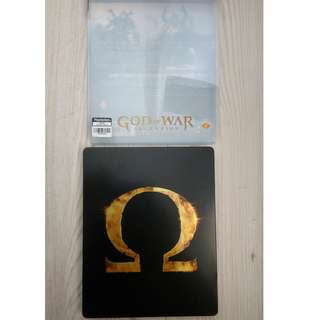 PS3 game original God of War metal case