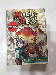 Comics Monster Allergy The House of Monsters