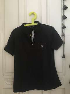 U.S POLO ASSN BLACK POLO