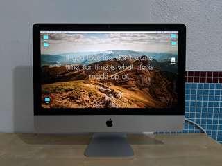 iMac 21.5 90%new. Thin薄身機